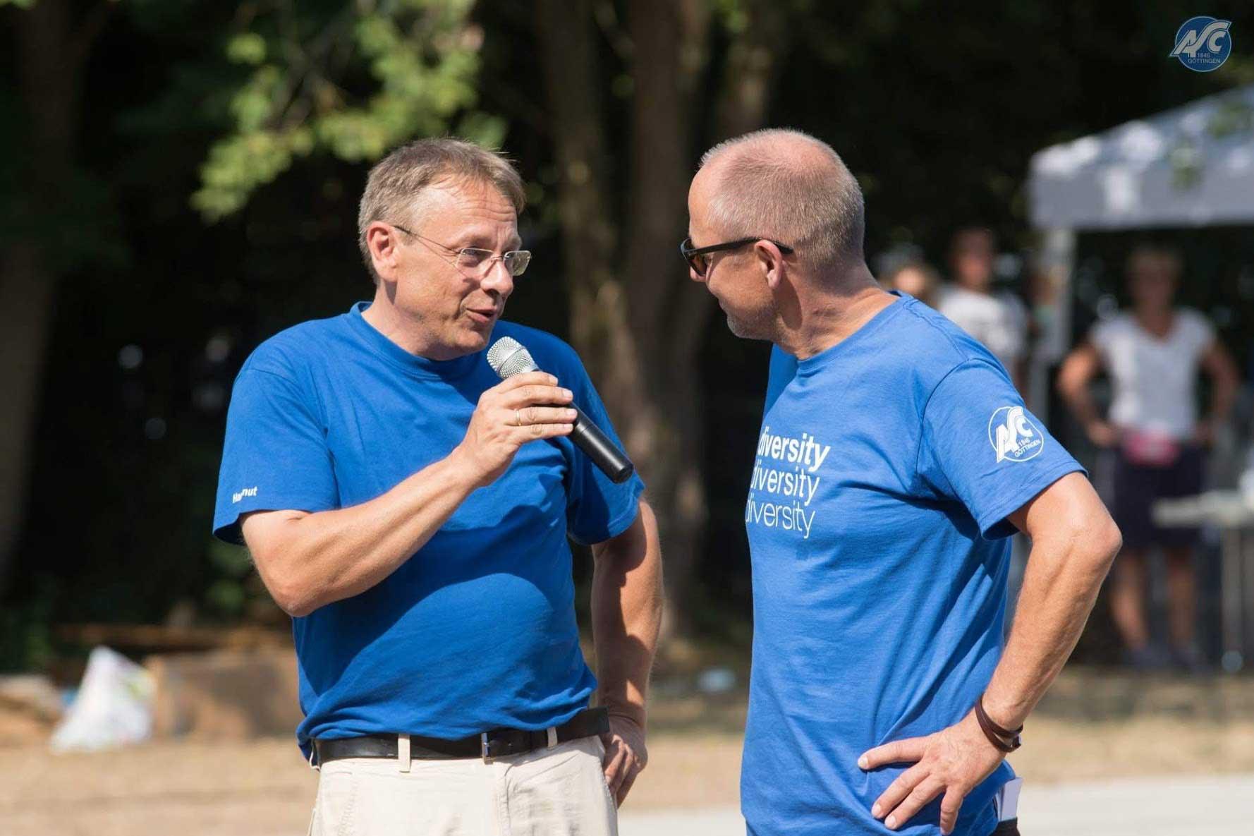 Hartmut Stöpler (links) und Jörg Schnitzerling (rechts)